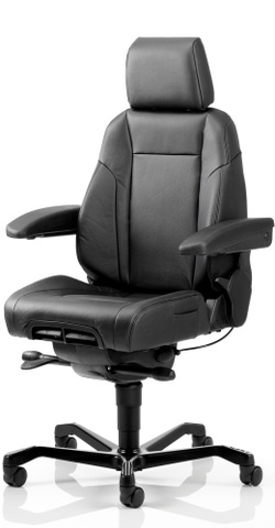 KAB K1 Premium fabric 24 hour control room chair
