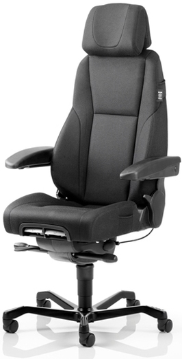 Kab K4 Premium Fabric Chair 24 Hour Control Room Chair Uk