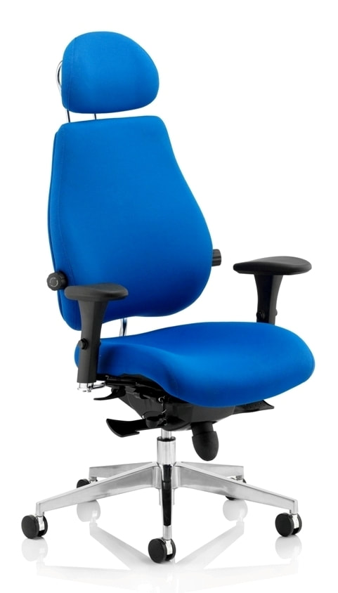 KAB Manager fabric 24 hour control room chair